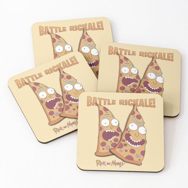 Battle Rickale 2 Coasters (Set of 4)