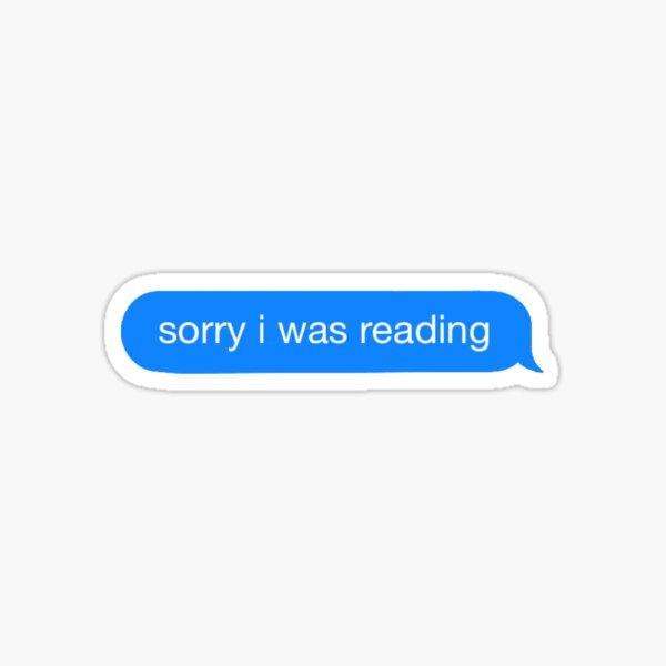 Sorry I was reading  Sticker
