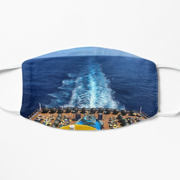 Cruise ship wake Mask