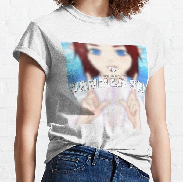 Bladee Drain Gang Vanilla Sky cubierta merch Camiseta clásica