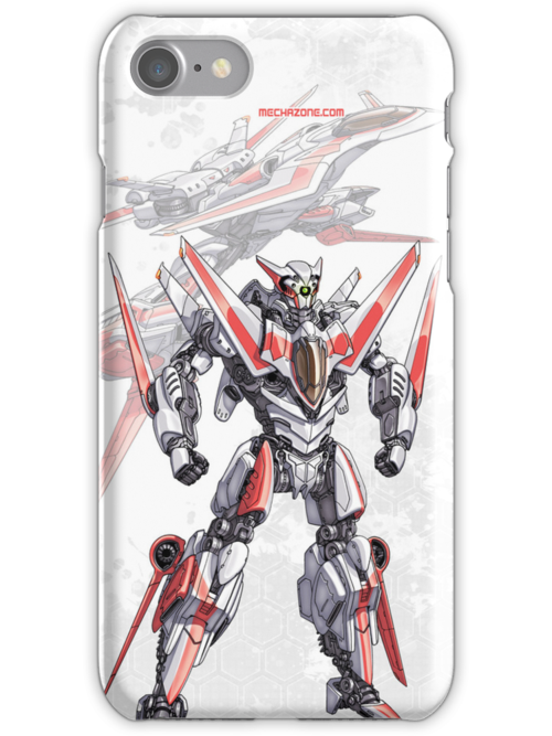 Transforming Jet Mech: The Dragonfly phone case by Mecha-Zone