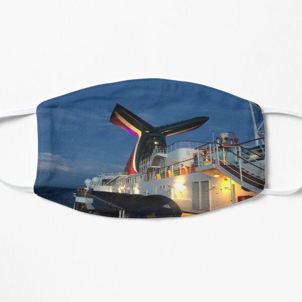 Cruise ship sunset Mask