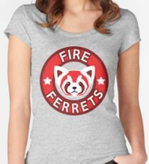 Fire Ferrets Women's Fitted Scoop T-Shirt
