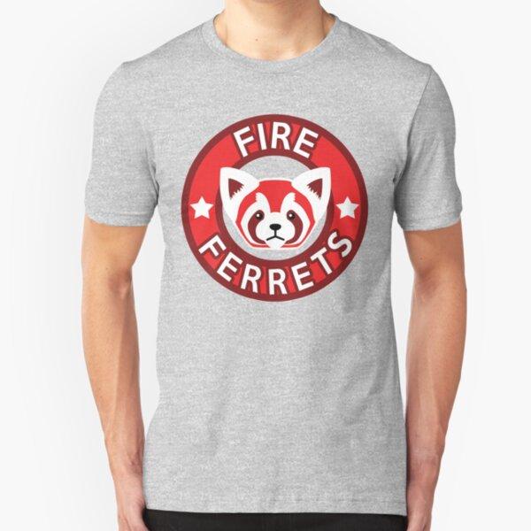 Fire Ferrets Slim Fit T-Shirt