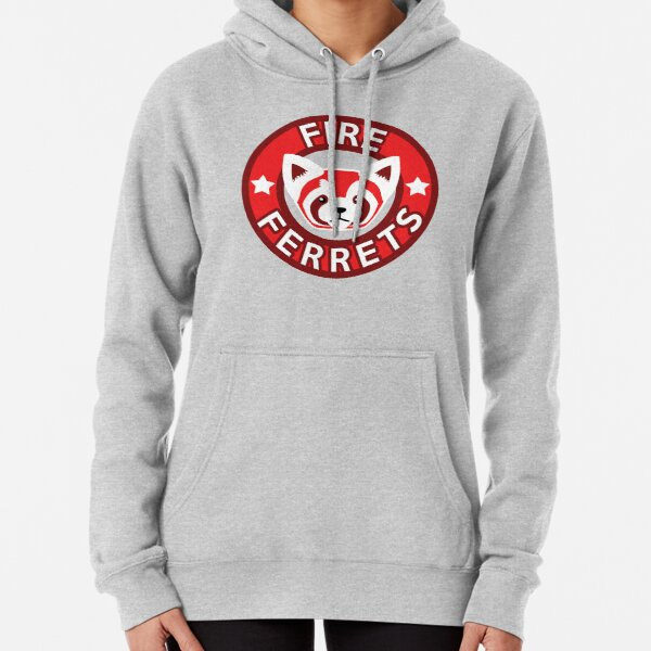 Fire Ferrets Pullover Hoodie