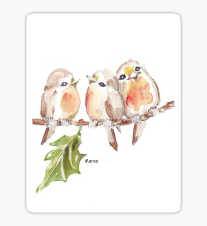 Three Little birds ♪♪♪♫ Sticker