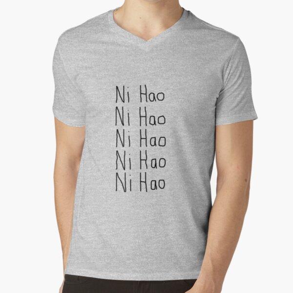 Ni Hao V-Neck T-Shirt