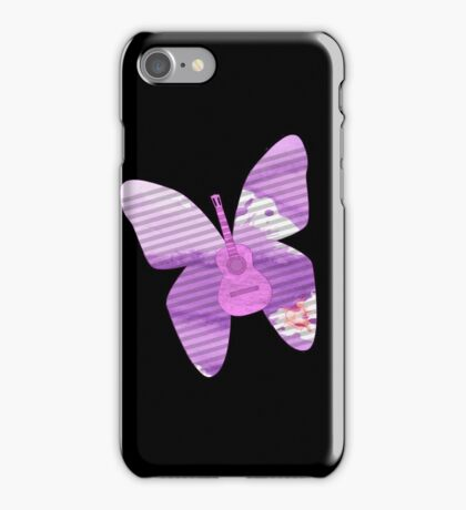acoustic butterfly  iPhone Case/Skin