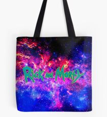 Rick and Morty against Galaxy Tote Bag