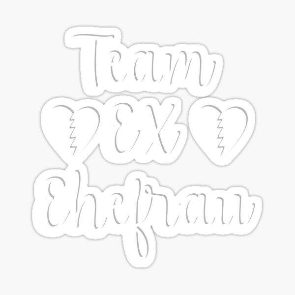 Team Ex Ehefrau - glücklich Geschieden Geschenk Sticker