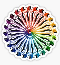 Wrench Color Wheel B Sticker