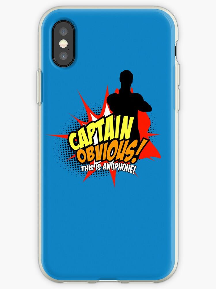 Captain Obvious iPhone by KentZonestar
