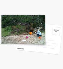 Sand Shower Postcards