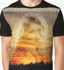 Laura ~ the Face in the Misty Light  Graphic T-Shirt