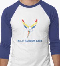 Rainbow Force Men's Baseball ¾ T-Shirt