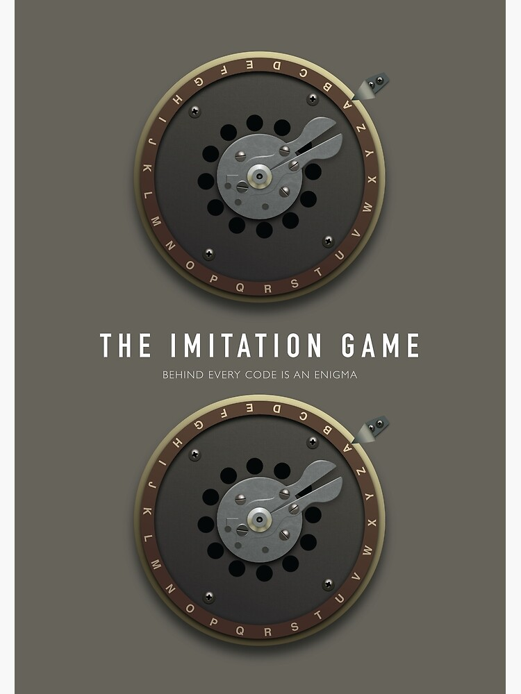 The Imitation Game - Alternative Movie Poster by MoviePosterBoy