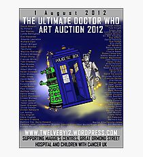 The Ultimate Dr Who Art Auction 2012 by Twelveby12 Photographic Print