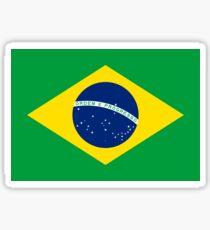 Brasilien Flagge - brasilianisches T-Shirt Sticker