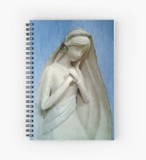 Madonna of the Sky Spiral Notebook