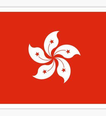 Hong Kong Flag - Umbrella Movement Sticker