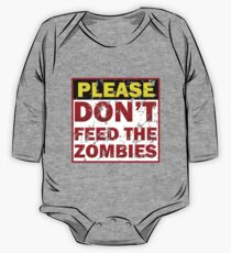 Don't feed zombies One Piece - Long Sleeve