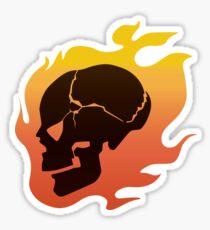 Persona 4: Kanji Tatsumi Summer Outfit Skull Sticker