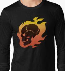 Persona 4: Kanji Tatsumi Summer Outfit Skull Long Sleeve T-Shirt