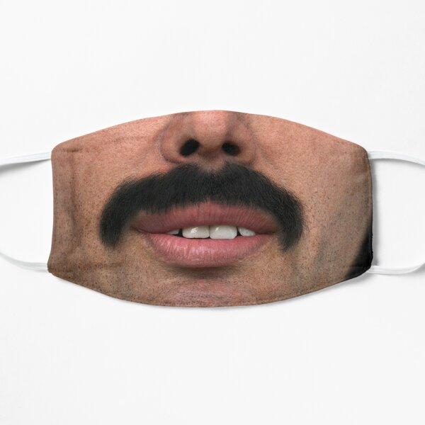 La plus grande moustache Masque sans plis