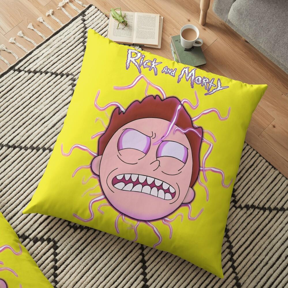 Bad Morty Floor Pillow