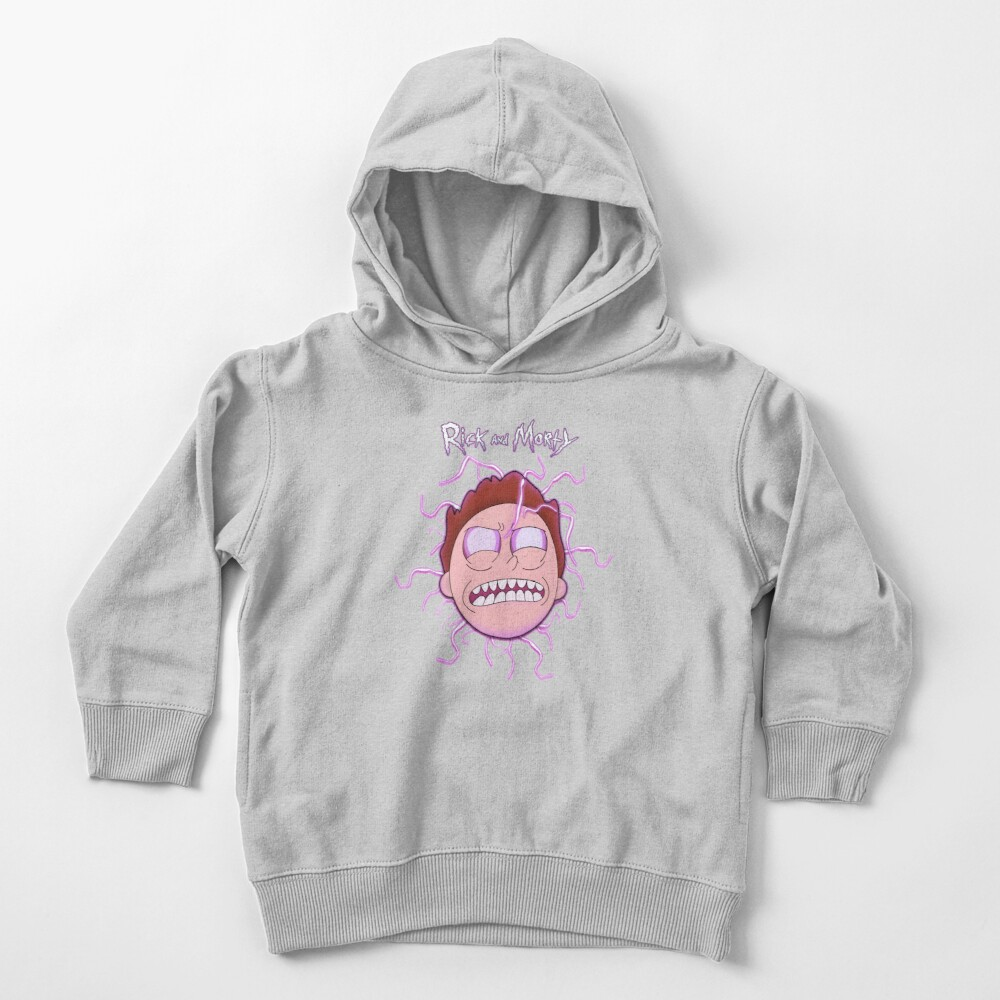 Bad Morty Toddler Pullover Hoodie