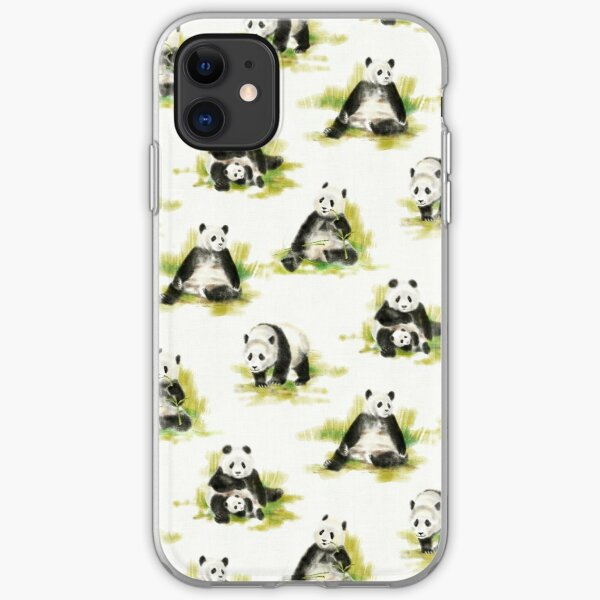 Panda park iPhone Soft Case