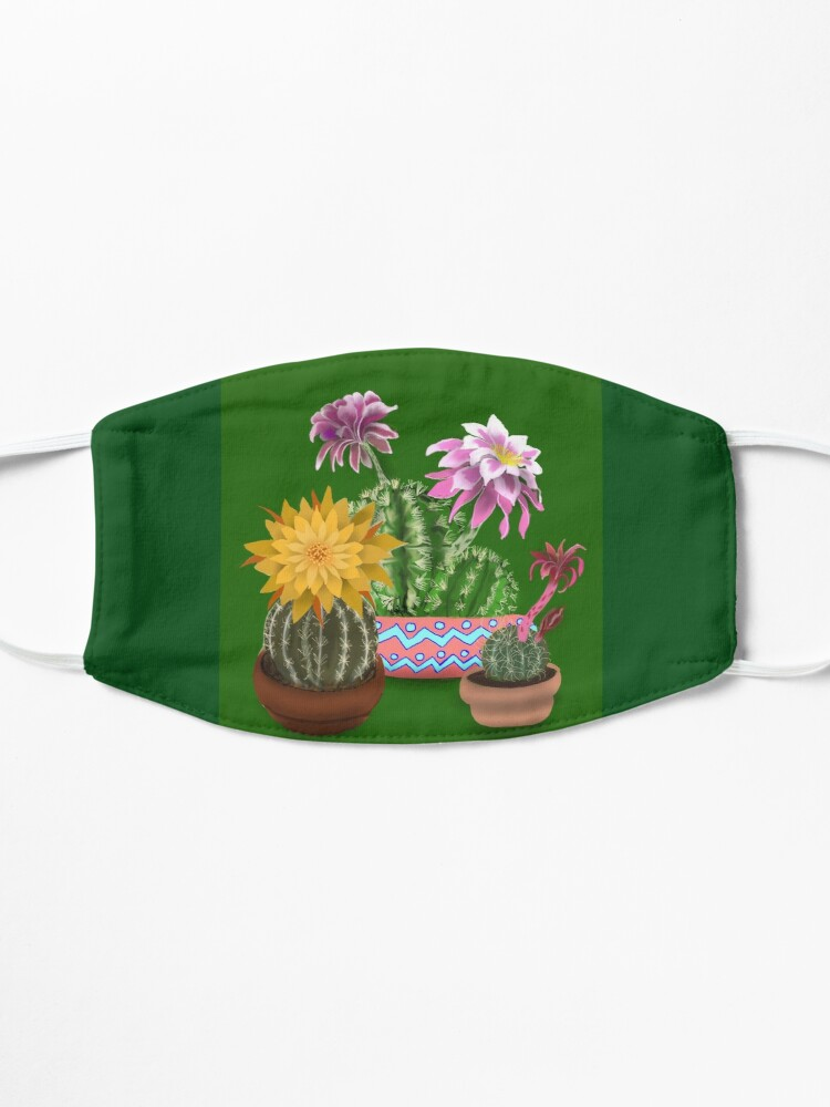 Alternate view of Cactus Mask