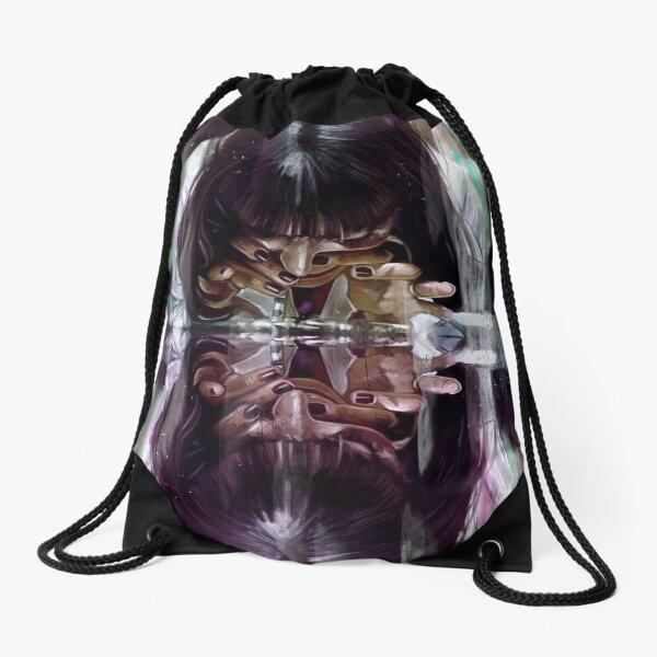 Dear Mama Bear Cool Drawstring Backpack String Bag