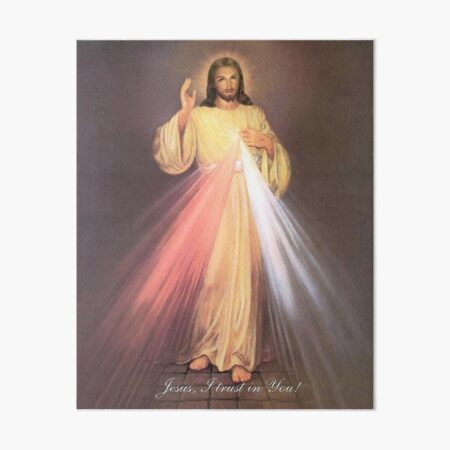 Divine Mercy Art Board Print