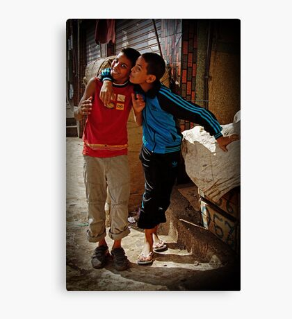 Sons of Morocco Canvas Print