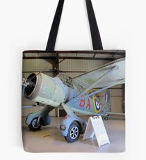 Port Side View - Canadian Lysander Aircraft Tote Bag