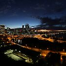 Perth City at Dawn by Mark McClare