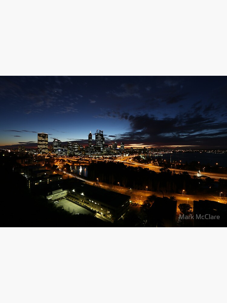 Perth City at Dawn by mcclare