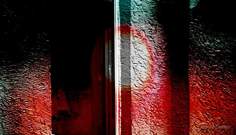 Abstract  in the Rain by Lenore Senior