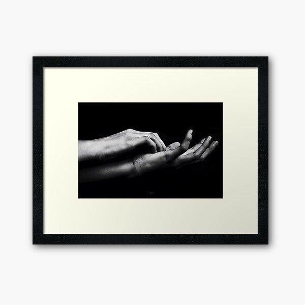 The Touch_FRGLTS Framed Art Print