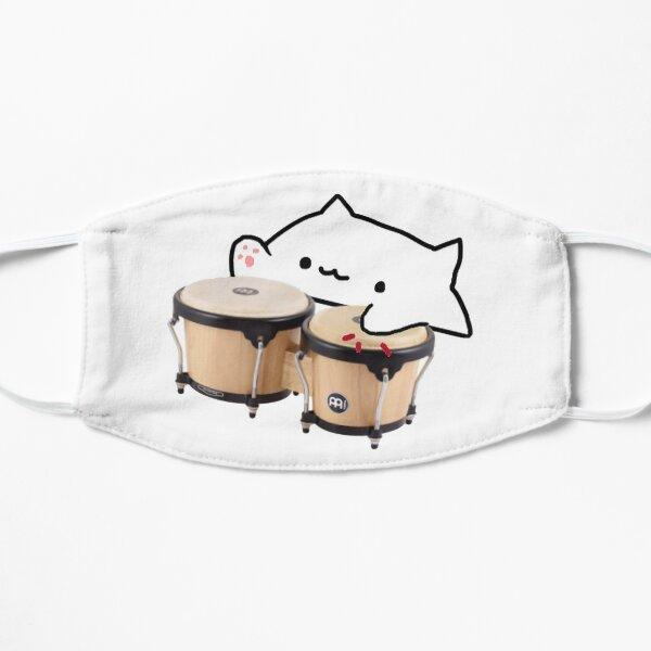 Bongo Cat Flat Mask