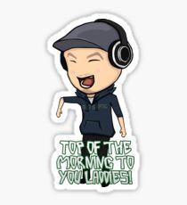 JackSepticEye | Top Of The Morning Sticker