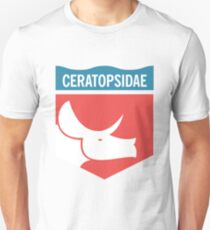 Dinosaur Family Crest: Ceratopsidae Unisex T-Shirt