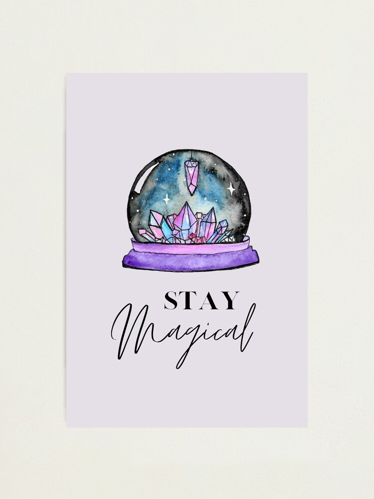 Alternate view of Crystal Ball Magic Photographic Print