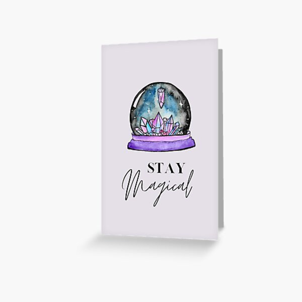 Crystal Ball Magic Greeting Card