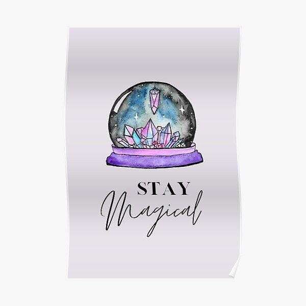 Crystal Ball Magic Poster