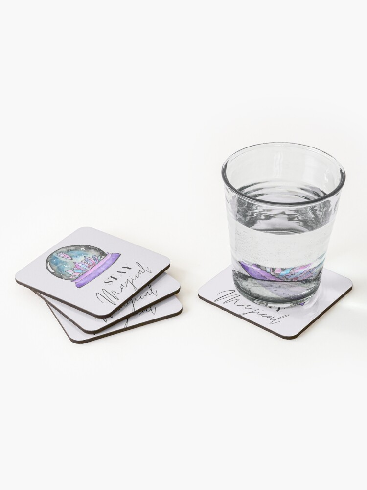 Alternate view of Crystal Ball Magic Coasters (Set of 4)
