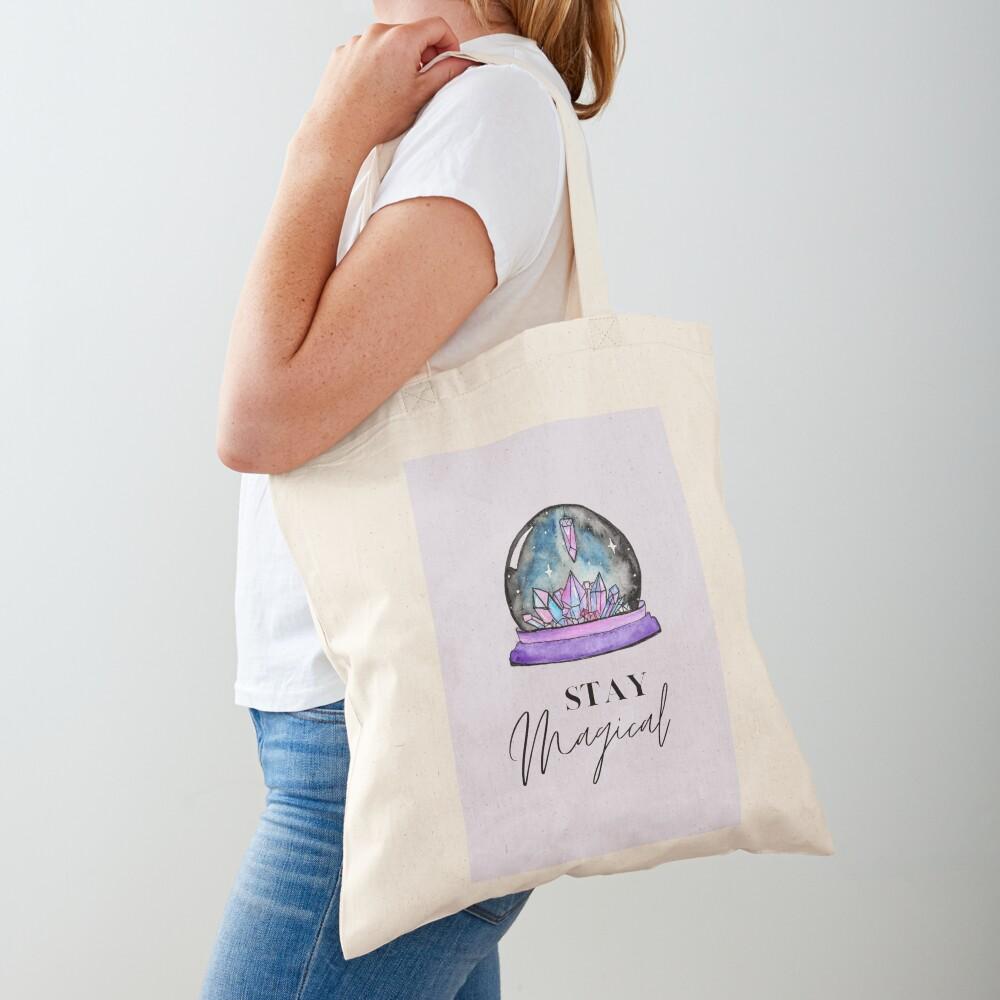 Crystal Ball Magic Tote Bag