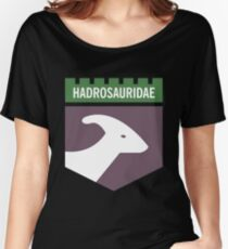 Dinosaur Family Crest: Hadrosauridae Women's Relaxed Fit T-Shirt