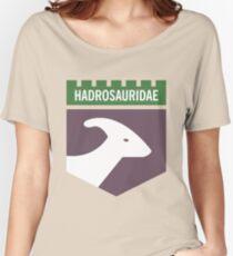 Dinosaur Family Crest: Hadrosauridae Women's Relaxed Fit T-Shirt